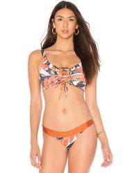 Maaji - Top Bikini Lace Up - Lyst