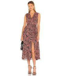 Karina Grimaldi Fannie Print Dress - Multicolour