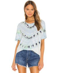 Raquel Allegra New Boyfriend Tシャツ - ブルー