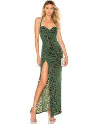 MAJORELLE - Bianca Maxi Dress - Lyst