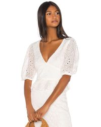 Song of Style Fia Top - White