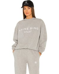 Anine Bing Evan スウェットシャツ - グレー