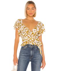 Tularosa Wiley Wrap Top - Multicolour