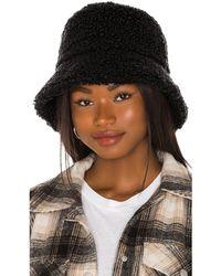 Lack of Color Sombrero pesca teddy - Negro