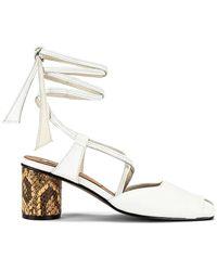 Reike Nen Open Toe Strap Sandals - Weiß