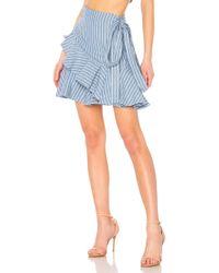 Alexis - Anvivi Skirt In Blue - Lyst