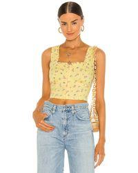 Bardot Бюстье Floral В Цвете Yellow Ditsy - Желтый