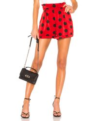 House of Harlow 1960 - X Revolve Yvonne Short In Red - Lyst