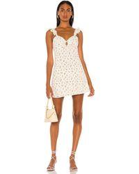 Bardot Cindy Mini Sun Dress - White