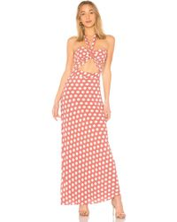 House of Harlow 1960 - X Revolve Camila Dress In Mauve - Lyst