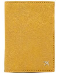 BEIS The Passport Cover - Yellow