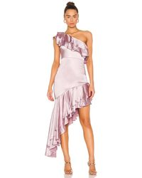 Lovers + Friends Giuseppina Gown - Pink