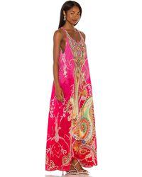 Camilla Racerback Maxi Dress - Pink