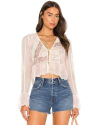 Free People X Revolve Bloomfield Patched Top - Multicolour