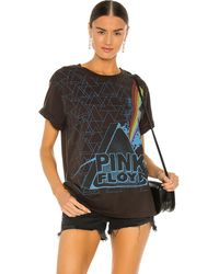 Chaser Pink Floyd Prism Triangles Tシャツ - ブラック