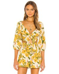 L*Space L* Penelope Top - Yellow