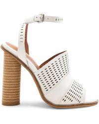 Alias Mae - Affect Sandal In Light Grey - Lyst