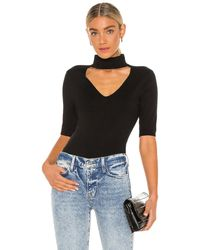 FRAME Cut out sweater - Negro