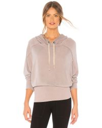 Free People - Movement Ready Go Hoodie In Mauve - Lyst