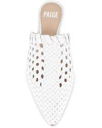 PAIGE Alana スライド - ホワイト