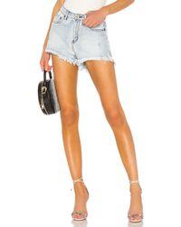 One Teaspoon Bonita High Waist Short. Size 23,24. - Mehrfarbig