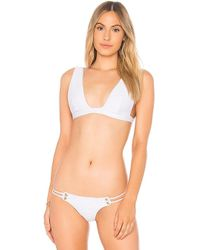 Blue Life - Roped Up Tri Top In White - Lyst