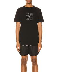 Off-White c/o Virgil Abloh - Ow Logo Workers グラフィックtシャツ - Lyst
