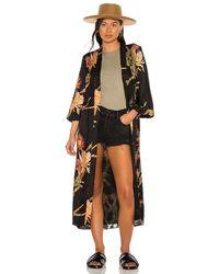 AllSaints Carine Nolina Kimono - Black