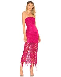 Lovers + Friends Franz Gown - Pink