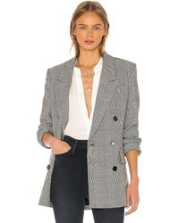 FRAME Double breasted blazer - Gris