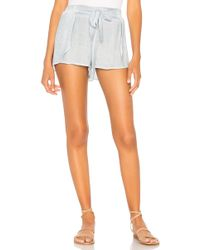 Young Fabulous & Broke - Goldie Short In Baby Blue - Lyst