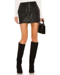 Amanda Uprichard Brooklyn ミニスカート - ブラック