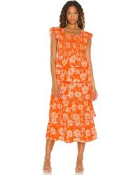 Saylor Linley Maxi Dress - Orange