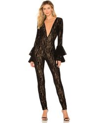 Michael Costello - X Revolve Kalista Jumpsuit In Black - Lyst