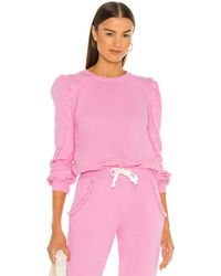 Generation Love Cleo Ruffle Sweatshirt - Pink