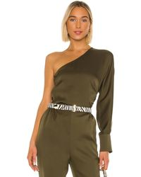 L'academie The Maura Top - Green