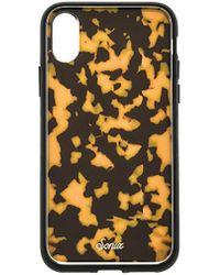 Sonix Brown Tortoise iPhone XS/X Case - Braun