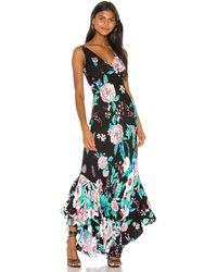 Diane von Furstenberg Платье Florain В Цвете Lilac Black - Black. Размер 0 (также В 00,2). - Черный
