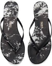 TKEES - Marble Sandal - Lyst