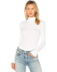 n:PHILANTHROPY Brooke Turtleneck Bodysuit - White