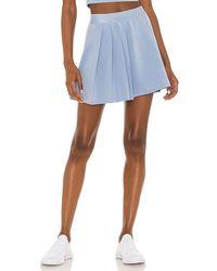 PUMA Classics Asymmetric Skirt - Blue