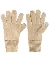 Hat Attack Basic Texting Gloves - Natur