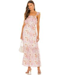 House of Harlow 1960 X Sofia Richie Evelyne Maxi Dress - Pink
