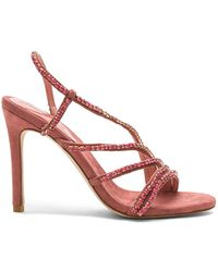 c86290bc678 Jeffrey Campbell Platform Sandals Peasy in Red - Lyst