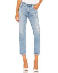 AG Jeans Isabelle ストレートレッグ. Size 24,25,26,27,28,29,30. - ブルー