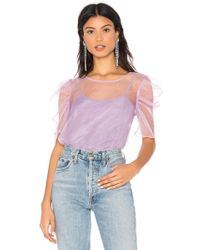 Amanda Uprichard X Revolve Smith Top Set - Purple