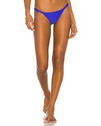 superdown X Revolve Alisha Strappy Bikini Bottom - Blue