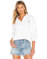 Anine Bing Tatum スウェットシャツ - ホワイト
