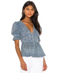 Tularosa Wilson Top - Blue