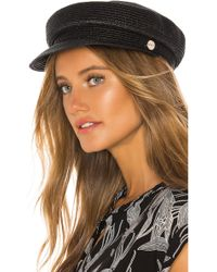 Seafolly Shady Lady Sailor Hat - Black